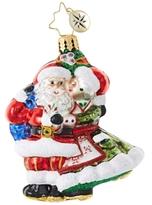 Christopher Radko Mr. & Mrs. Mistletoe Little Gem Ornament