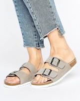 Vero Moda Double Buckle Slide Sandal