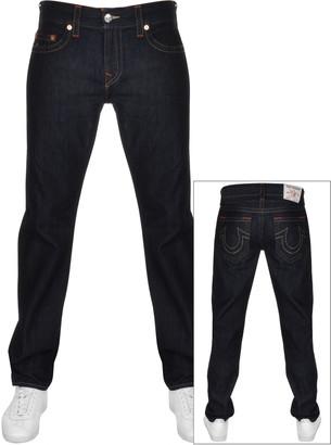 True Religion Ricky No Flap Jeans Navy