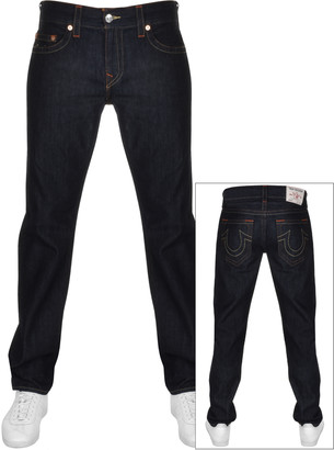 True Religion Rocco No Flap Jeans Navy