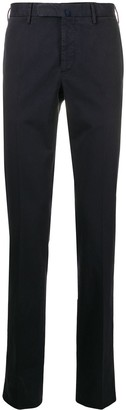 Incotex colour block tailored trousers