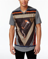 Sean John Men's Microphone Check T-Shirt