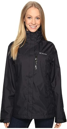 Columbia Pourationtm Jacket (Black) Women's Coat