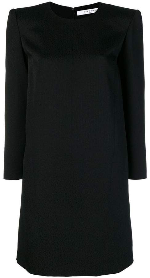 Givenchy round neck shift dress