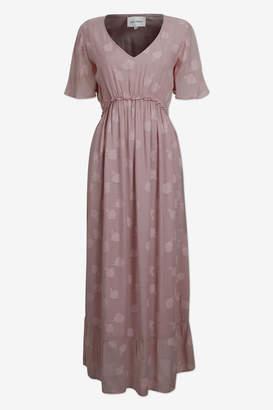 Adina Six Ames - Pale Mauve Dress - 36 | viscose | pink - Pink/Pink