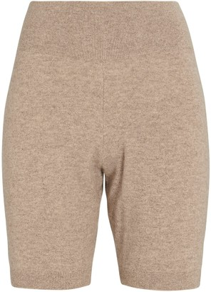 Frame Recycled Cashmere Biker Shorts