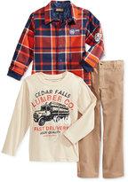 Nannette Little Boys' 3-Pc. Jacket, Shirt & Pants Set