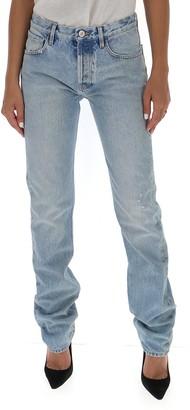 ATTICO Straight Leg Denim Jeans