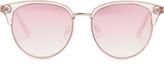 Le Specs Déjà Vu round-frame sunglasses