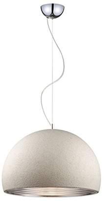 BEIGE Design by Grönlund 176250-07 Stonehenge Pendant, Plastic, Inside Silver, E27, 50 cm
