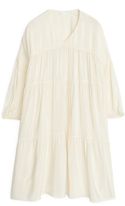 Arket Short Ruffled Dress