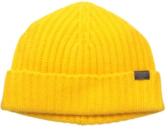 Hickey Freeman Men's Full Cardigan Stitch Cuffed Hat