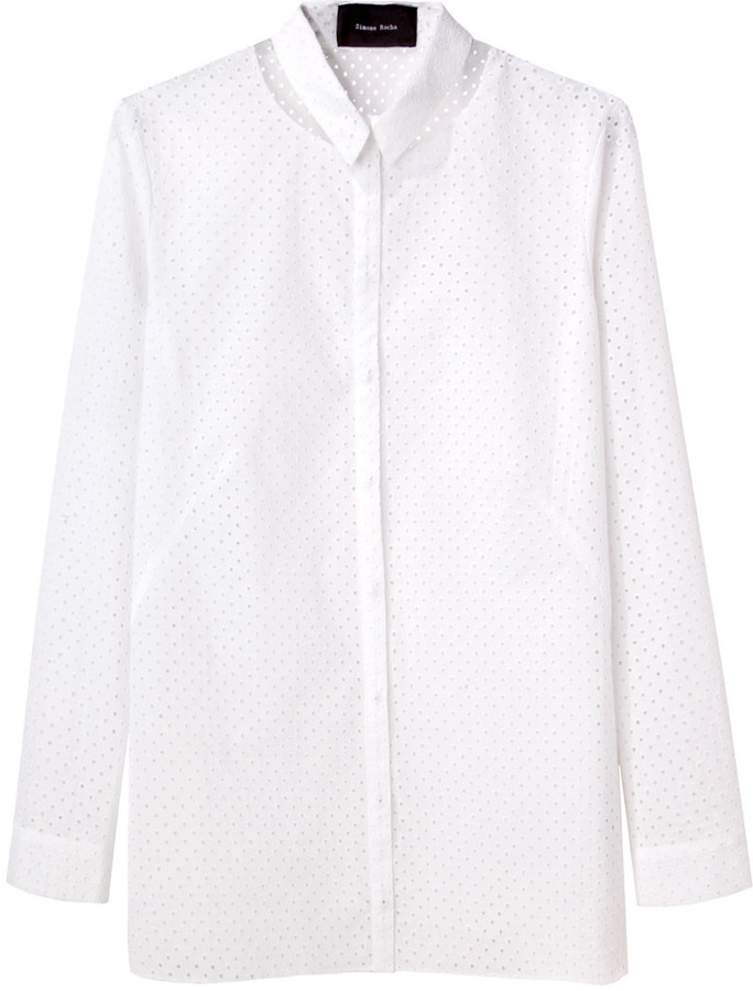 Simone Rocha / small dot shirt