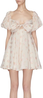 Maggie Marilyn 'Once Upon A Time' bow front embellished dress
