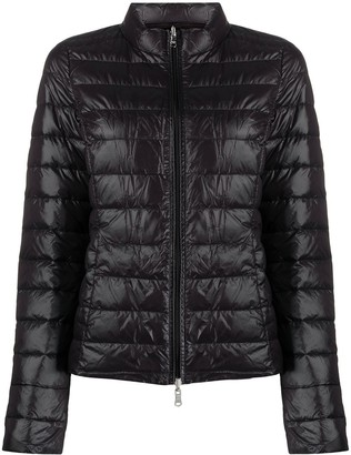 Patrizia Pepe Long-Sleeved Puffer Jacket