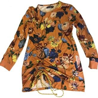 House of Holland Orange Cotton Dress for Women