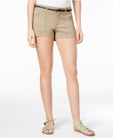 Be Bop Juniors' Belted Shorts