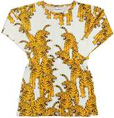 Mini Rodini Tiger Cotton Jersey Dress