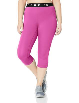 Core Products Amazon Brand - Core 10 Women's Plus Size Lightweight Compression Capri