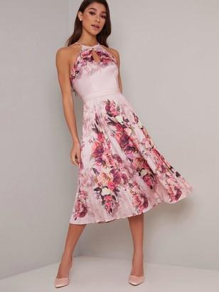Chi Chi London Raeane Dress - Mink