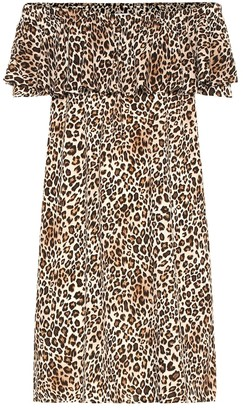 Velvet Taye leopard-print dress