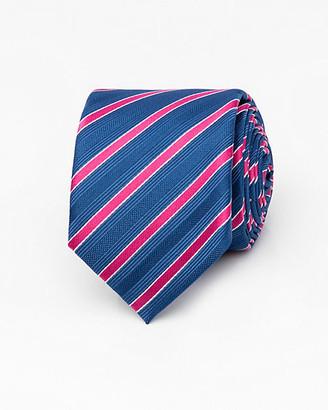 Le Château Stripe Microfibre Tie