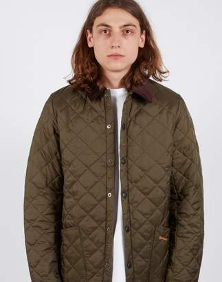 Barbour Heritage Liddesdale Quilted Jacket Green
