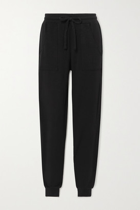 YEAR OF OURS Modal-blend French Terry Track Pants - Black