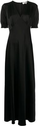 Diane von Furstenberg v-neck long dress