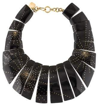 Ashley Pittman Horn Bib Necklace
