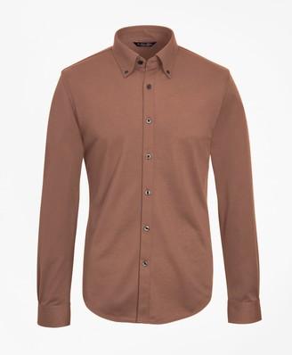 Brooks Brothers Tailored Lightweight Supima Cotton Pique Shirt
