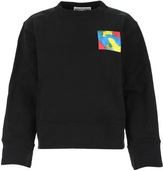 Moschino Teddy Logo Patch Sweatshirt