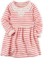 Carter's French Terry Striped Dress