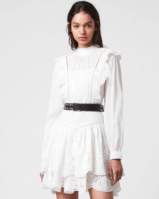 AllSaints Aislyn Broderie Dress
