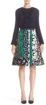 Oscar de la Renta Women's Ruffle Double Silk Georgette Blouse