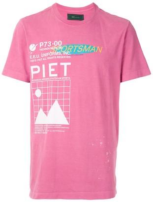 Piet Re-Sports printed shirt