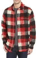 True Grit Textured Buffalo Check Shirt Jacket