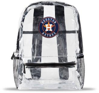 clear Houston Astros Team Logo School Bag