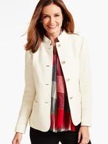 Talbots Berkshire-Textured Jacket-Ivory