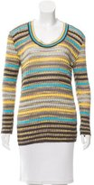 M Missoni Pattered Long Sleeve Top