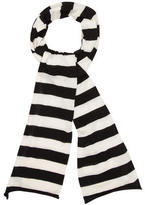 Michael Kors Striped Cashmere Scarf