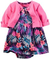 Carter's Floral Dress Set (Baby) - Floral - 9 Months