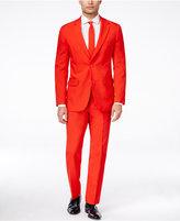 OppoSuits Red Devil Slim-Fit Suit & Tie