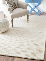 nuLoom Chunky Cable Hand-Woven Wool Rug