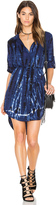 Bella Dahl Tie Dye Placket Shirt Dress