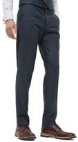 Ted Baker 'Debonair' Flat Front Solid Wool Trousers
