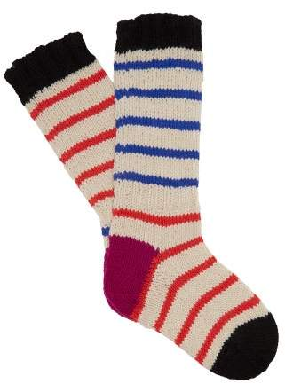 eab7392e2c319 Red Stripe Wool Socks - About Sock Photos
