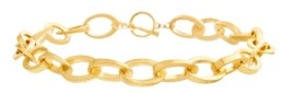 Steve Madden Chain Link Toggle Necklace