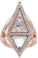 JLO by Jennifer Lopez Triangular Stretch Ring