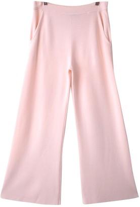 Sonia Rykiel Beige Trousers for Women